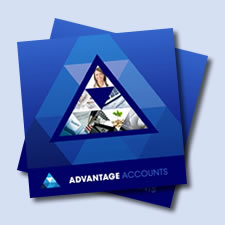 The Advantage Accounts broucher